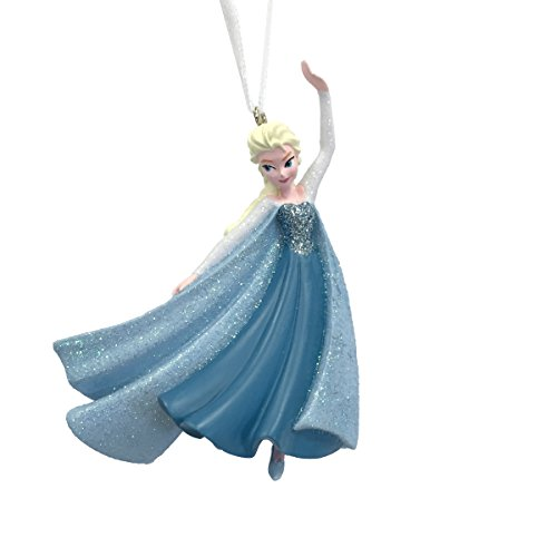 Hallmark Disney Frozen Elsa Skating Christmas Ornament
