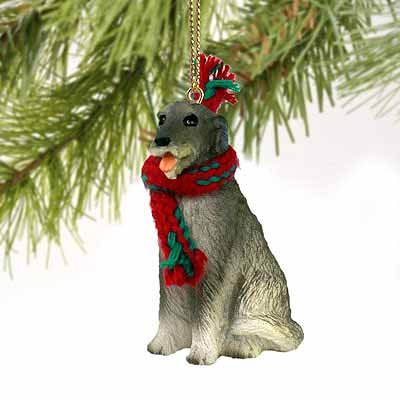 Irish Wolfhound Miniature Dog Ornament
