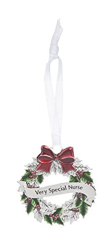 GANZ Wreath Ornament – Very Special Nyourse – Ornament Christmas Sentimental Gift EX26555