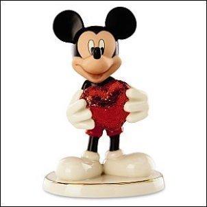 Lenox Disney Love Struck Mickey Ornament