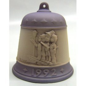 """M.J. Hummel 1992 """"Harmony In Four Parts"""" Goebel Bell Collectible Ornament – Vintage Holiday Decor"""