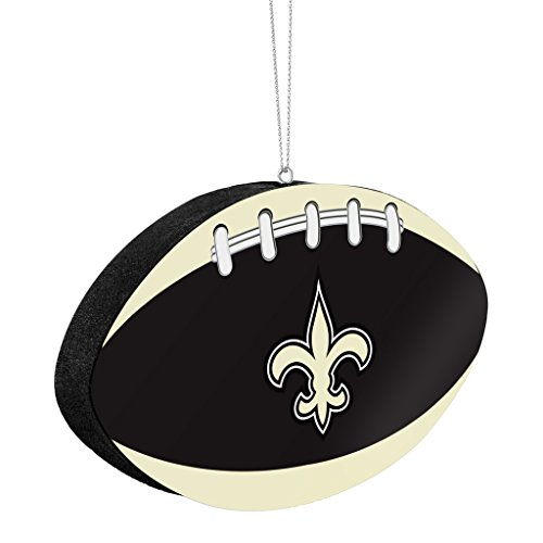 New Orleans Saints Official NFL 4 inch Foam Christmas Ball Ornament by Forever Collectibles 241503