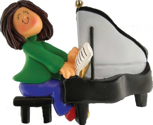 Music Treasures Co. Piano Player Ornament