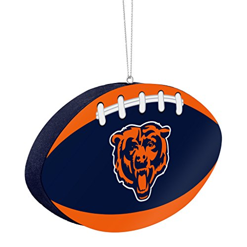 Chicago Bears Official NFL 4 inch Foam Christmas Ball Ornament by Forever Collectibles 241367