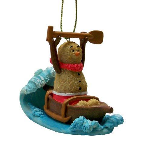 Christmas Ornament Sandman Canoe