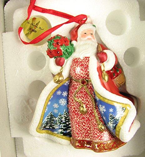 2007 Danbury Mint Santa Christmas Ornament