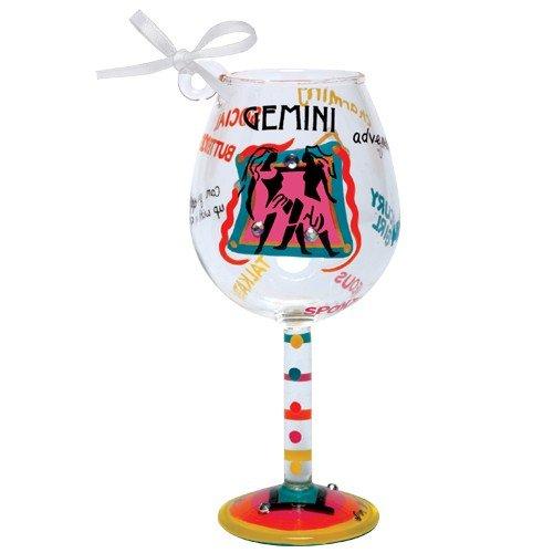 Santa Barbara Design Studio Lolita Holiday Mini-Wine Ornament, Gemini