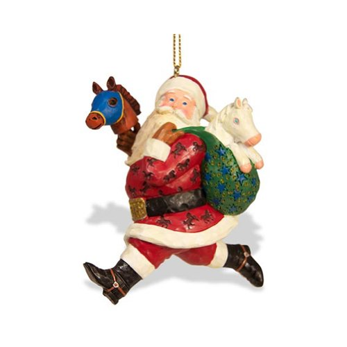 Breyer Strolling Santa Ornament