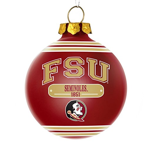 Florida State Seminoles Official NCAA 2014 Year Plaque Ball Ornament by Forever Collectibles