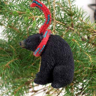 Conversation Concepts Bear Black Original Ornament