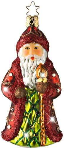 St. Nikolaus Treasure, #1-130-09, by Inge-Glas of Germany