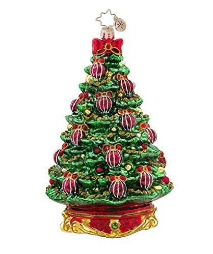 Christopher Radko Noble Fir Gem Christmas Ornament