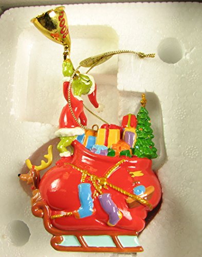 2008 Danbury Mint Grinch Christmas Ornament