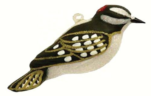 Cobane Studio LLC COBANEC345 Downy Woodpecker Ornament by Cobane Studio