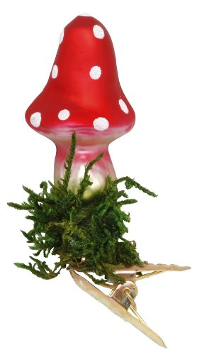 Inge-Glas Mini Christmas Luck clip Tall top Christmas Ornament