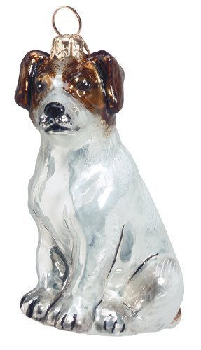 Joy To The World Dog Ornament – Jack Russell Terrier