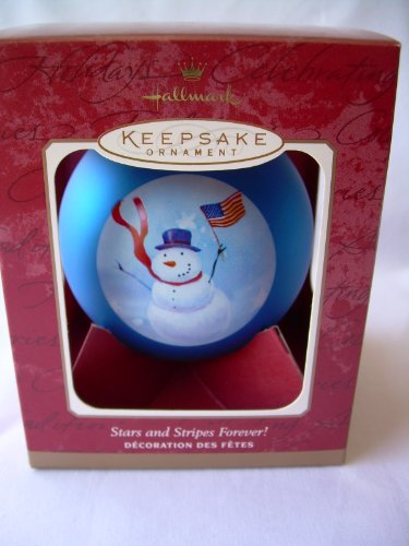 2001 Hallmark Ornament Stars And Stripes Forever!