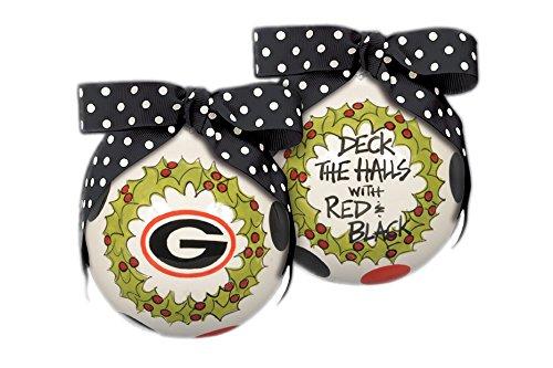 "Georgia ""Deck The Halls"" Hanging Christmas Tree Ornament"