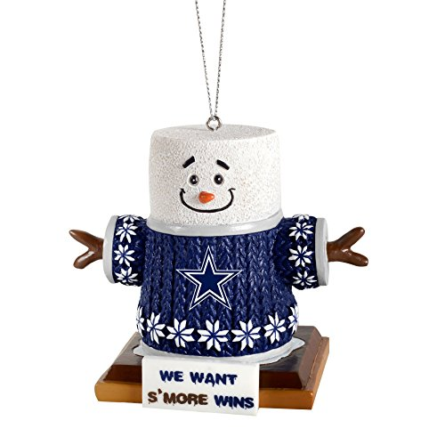 2015 NFL Football Team Logo Smores Holiday Tree Ornament – Pick Team (Dallas Cowboys)