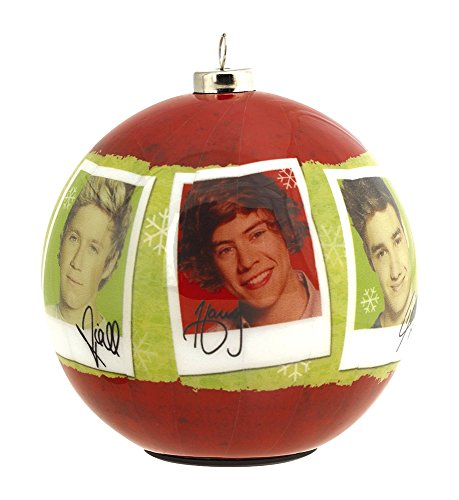Carlton Cards Heirloom Musical One Direction Christmas Ball Ornament