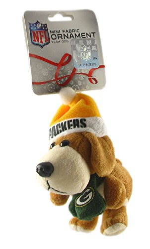 Green Bay Packers – NFL 3 Inch Plush Dog Ornament