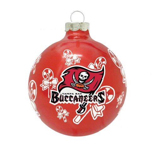 NFL Tampa Bay Buccaneers Traditional 2 5/8″ Ornament