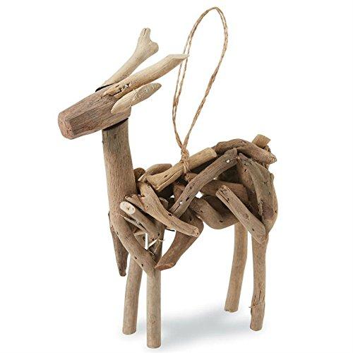 Driftwood Deer Ornament