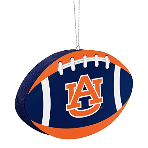 Auburn Tigers Official NCAA 4 inch Foam Christmas Ball Ornament by Forever Collectibles 240605