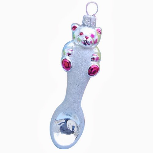 Ornaments to Remember: BABY SPOON Christmas Ornament (Pink)