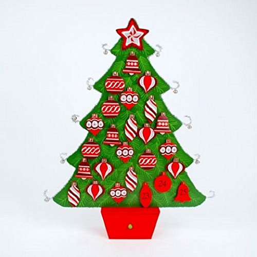 Tinsel Tree Advent Calender