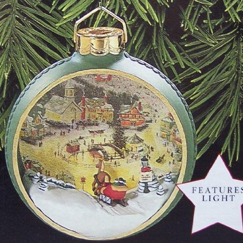 St. Nicholas Circle Ornament 1998 (Lighted Ornament)