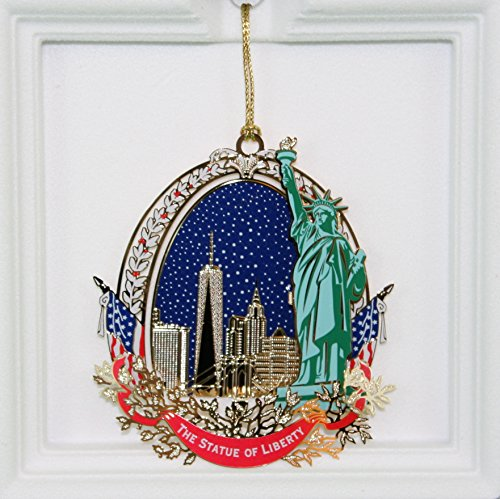 Statue of Liberty Ellis Island Foundation Collectable Ornament