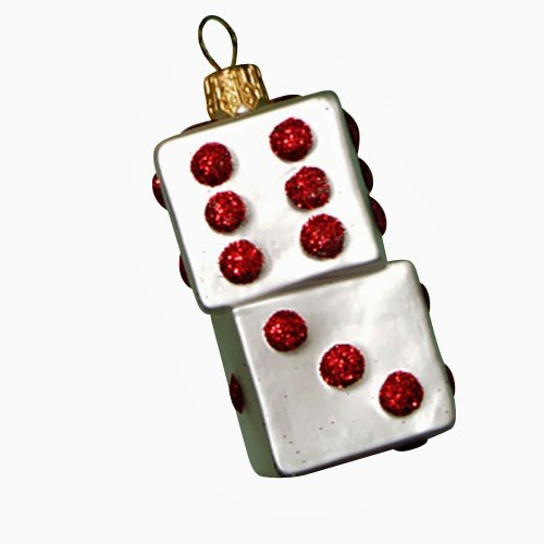 Ornaments to Remember: DICE Christmas Ornament