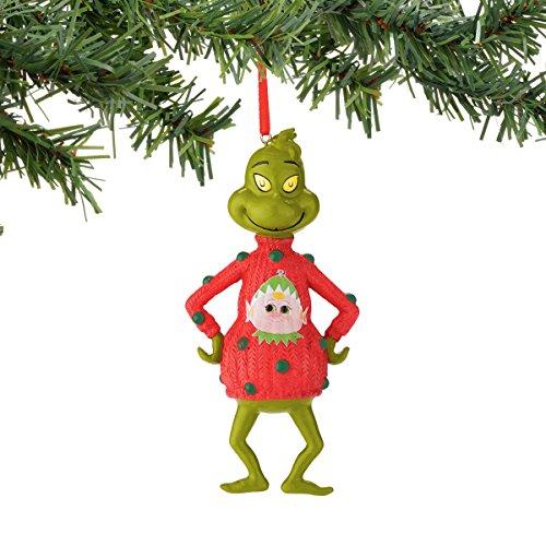 Department 56 Classics Grinch Elf Sweater Ornament