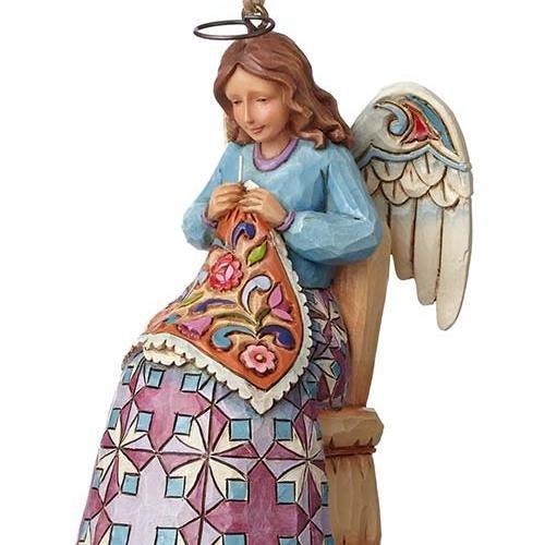 Jim Shore Sewing Angel Ornament