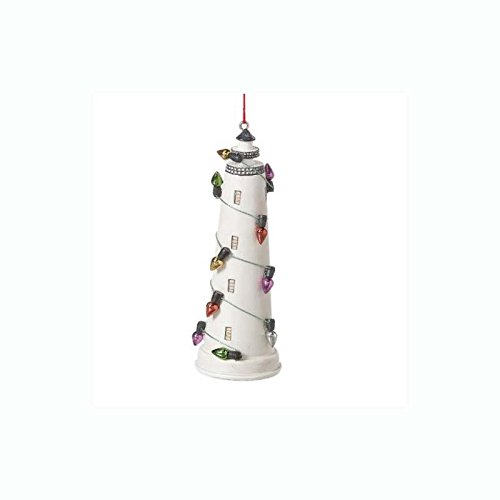 Midwest CBK Decorated Lighthouse Christmas Ornament