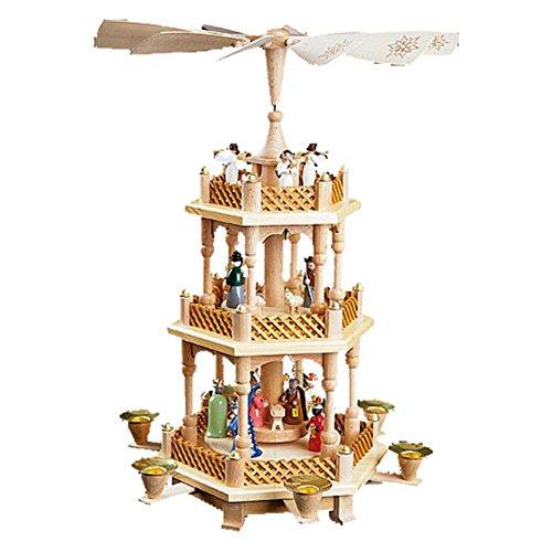 Richard Glaesser 3-Tier Nativity Pyramid