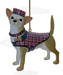December Diamonds Sweet Tea the Chihuahua Ornament