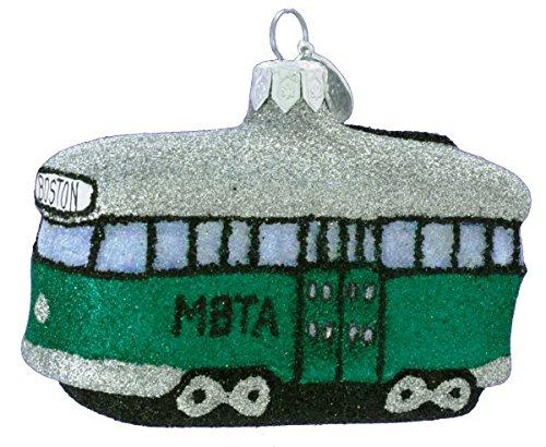 Glittered MBTA Trolley