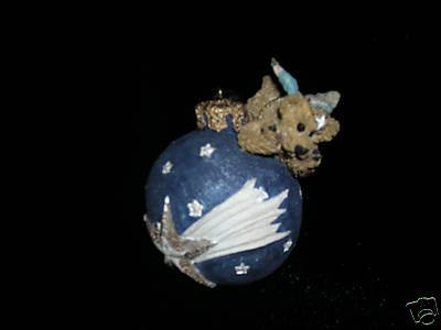 "Boyds Bearstone Collection – ""Wilson with Shooting Star"" Ornament"