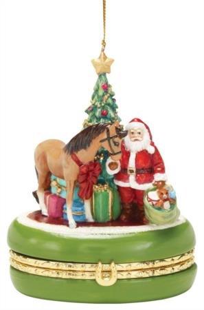 Golden Memories Treasure Box Ornament (4th in series)