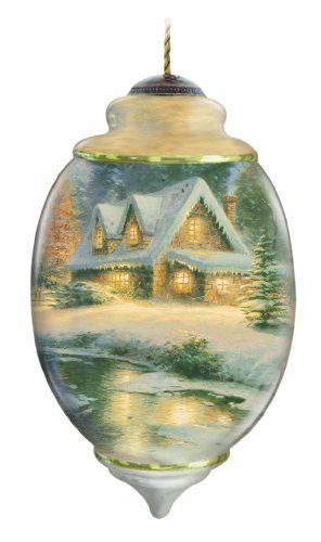 Ne'Qwa Ltd Ed Deer Creek Cottage Ornament