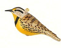 Meadowlark Ornament