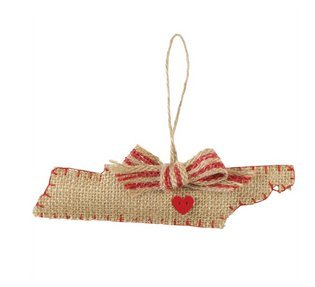 Mud Pie 4675050 Tennessee Ornament