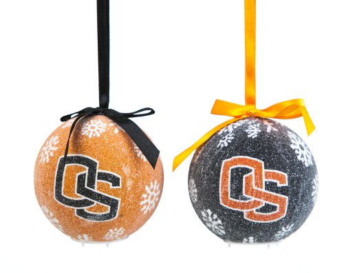 Oregon State LED Ornament Set