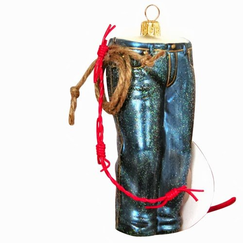 Ornaments to Remember: JEANS Christmas Ornament (Western)