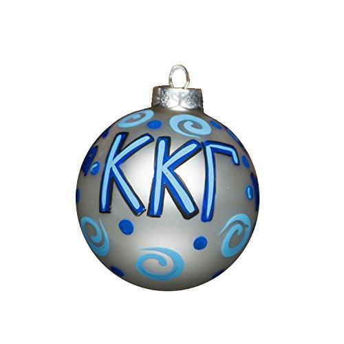 Glory Haus Kappa Gamma Glass Ornament, 4-Inch