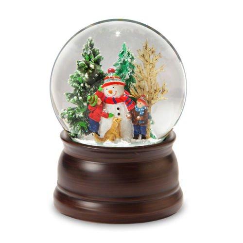 Snowman and Friends Snow Globe SF Music Box Co