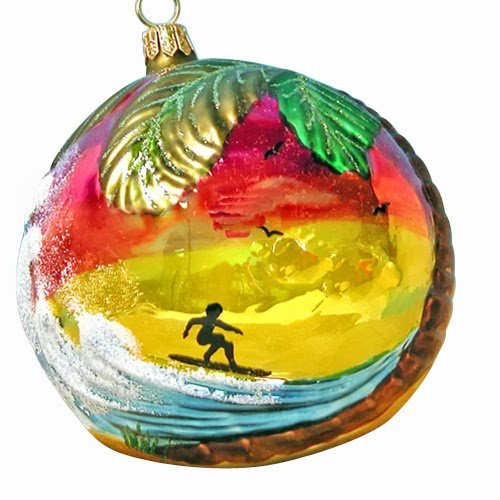 Ornaments to Remember: SURF'S UP Christmas Ornament