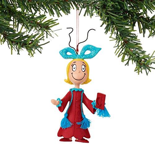 Department 56 Classics Grinch Cindy Graduating Ornament